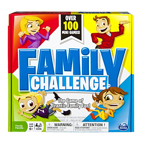 Spin Master Games Beat The Parents Family Challenge Board Game