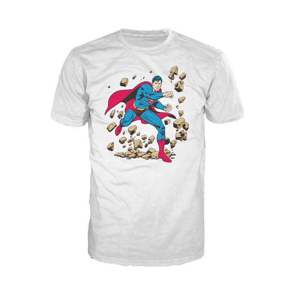 Comics Superman Character Classic Smash S Shirts