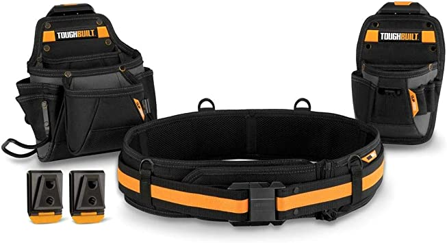 Toughbuilt 3 PC Handyman Tool Belt TB-CT-111C by ToughBuilt