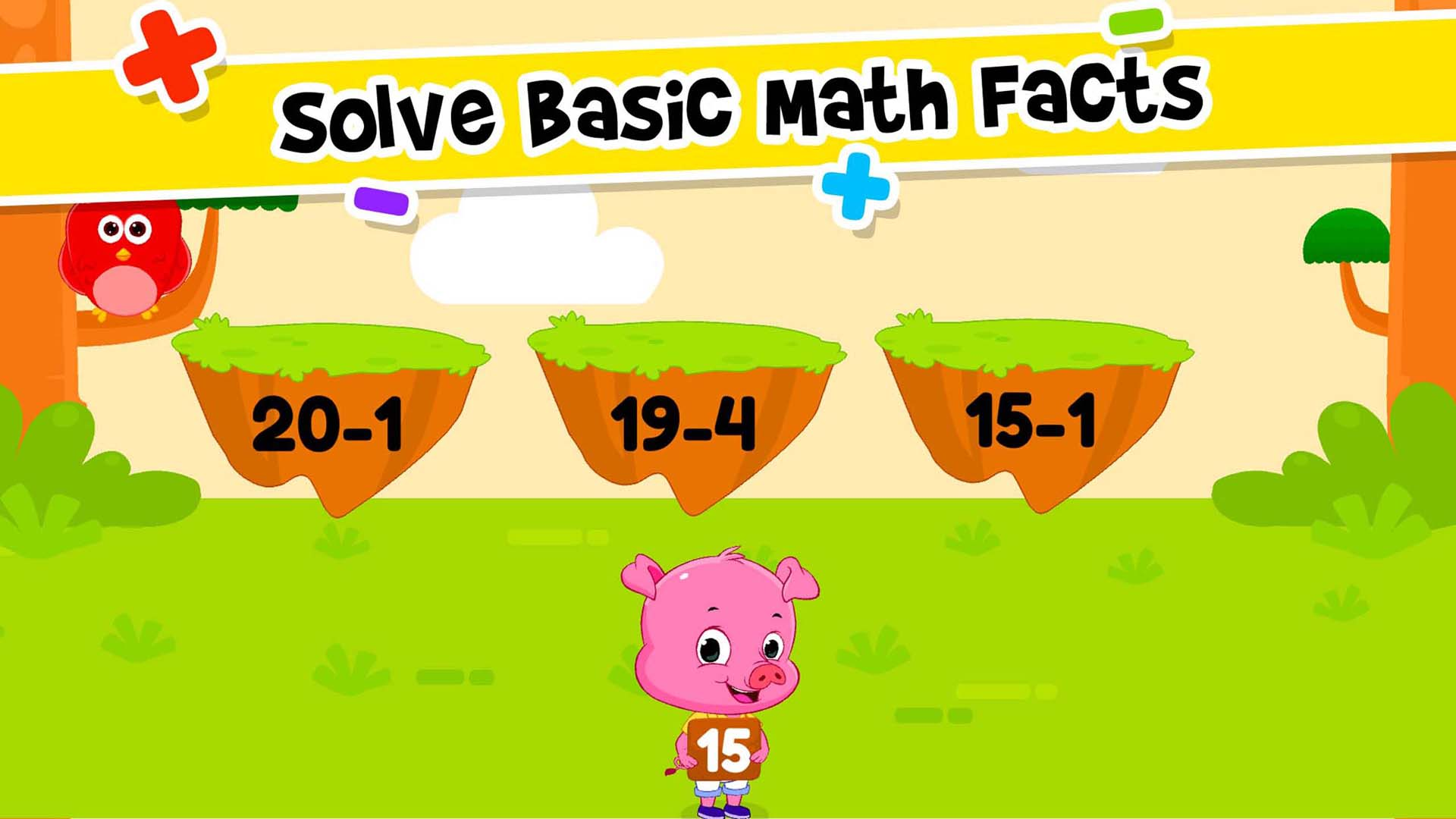 Amazon.com: Addition & Subtraction for Kids - First Grade Math ...