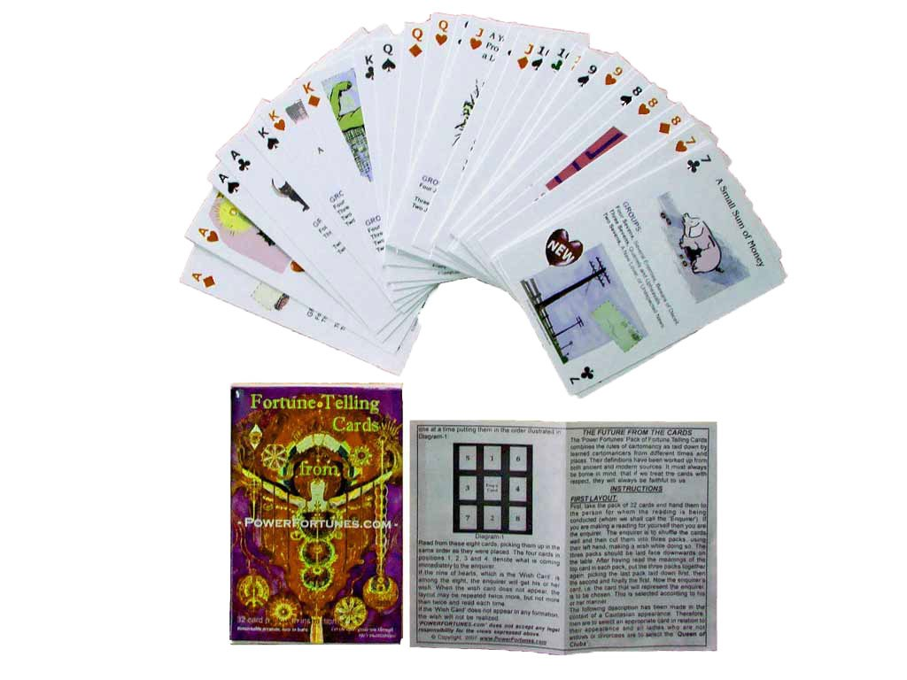 PowerFortunes Fortune Telling Cards