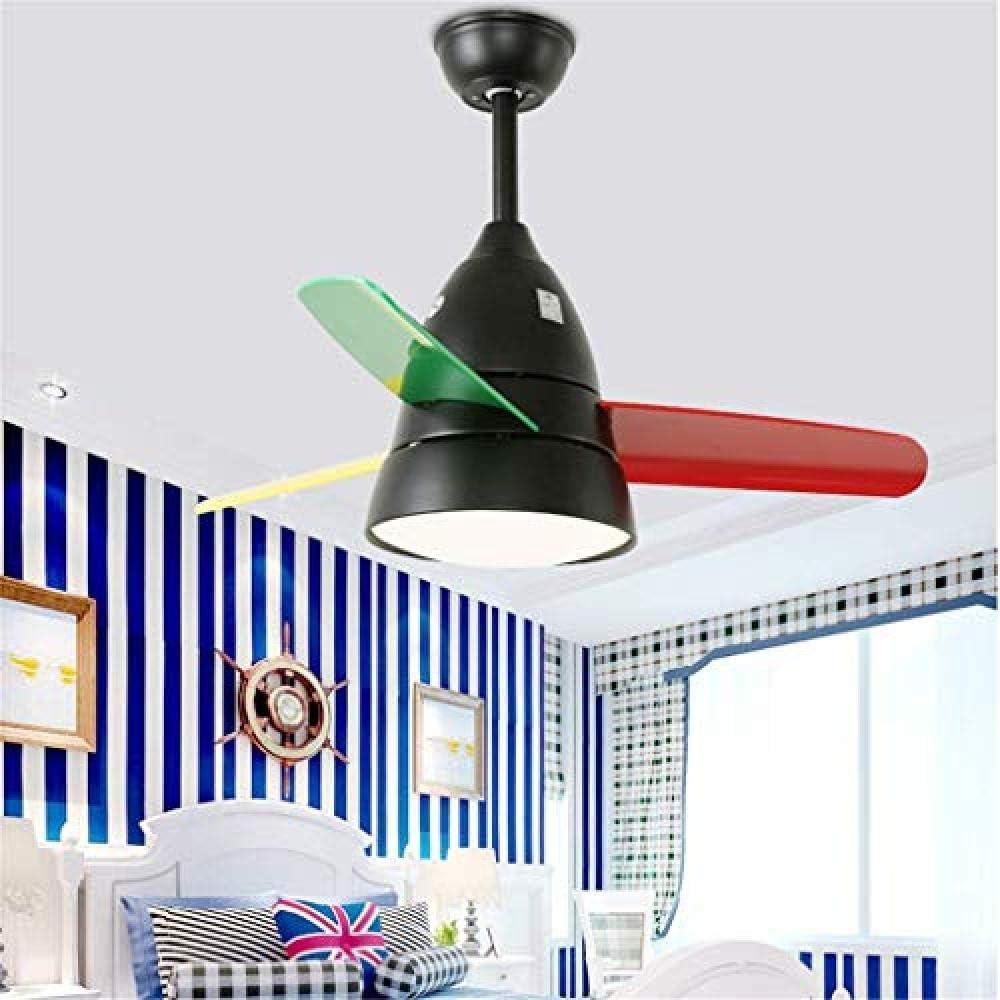 WENZHEN Ventilador de Techo con iluminación Control Remoto ...