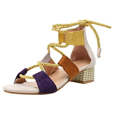 WOMENS ESPADRILLES BLOCK HEEL HOLIDAY OPEN TOE SHOES STRAPPY SUMMER SANDALS