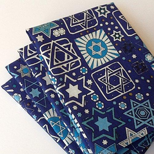 Hanukkah, 12x12 Cotton Napkins, Set of 6 by GingerPie