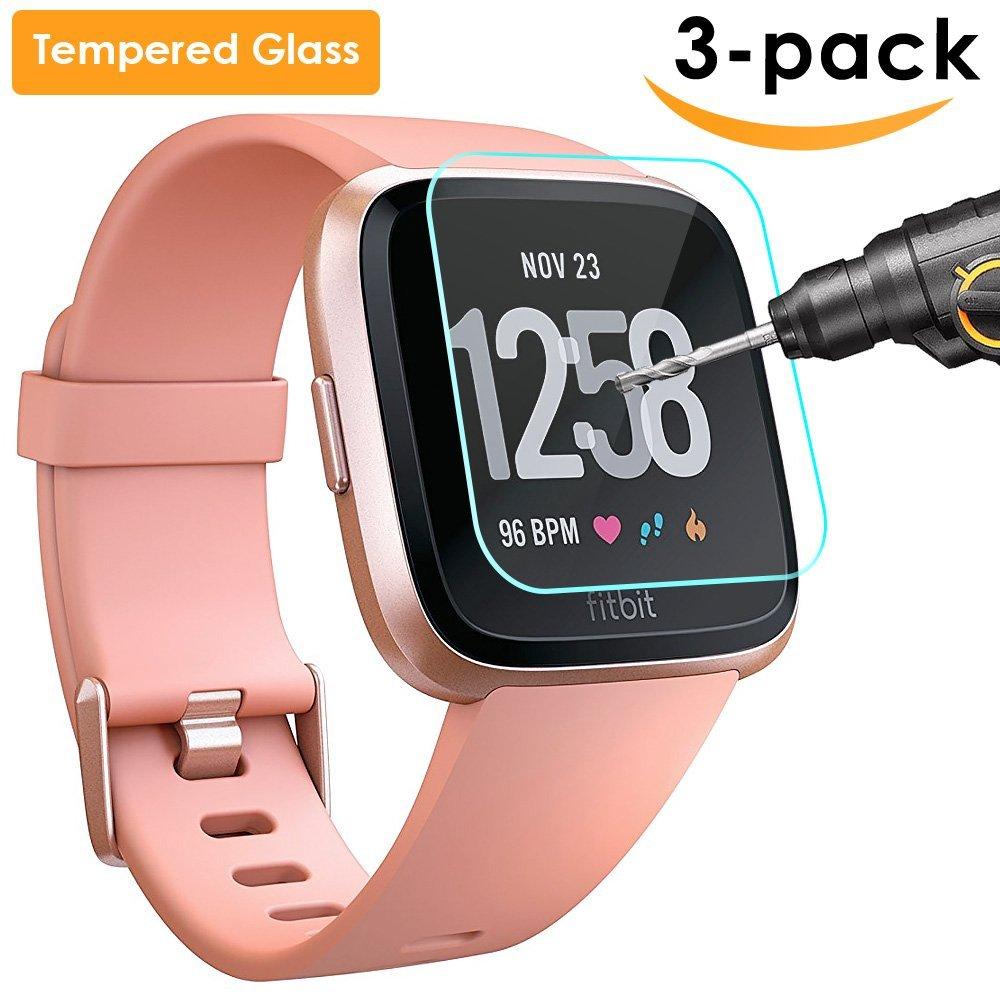 Amazon.com: Fitbit Versa Smart Watch, Peach/Rose Gold