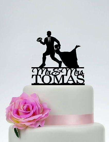 Amazon Wedding Cake Topper Rugby Wedding American Football