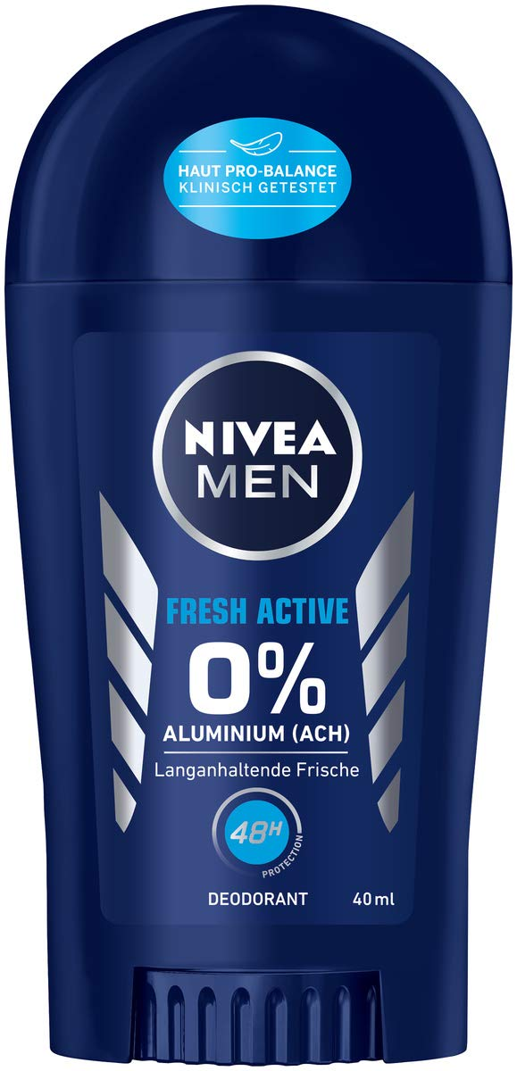 [amazon.de] NIVEA MEN Fresh Active Deo Stift 10 Stk. um 10,7€ anstatt 20€