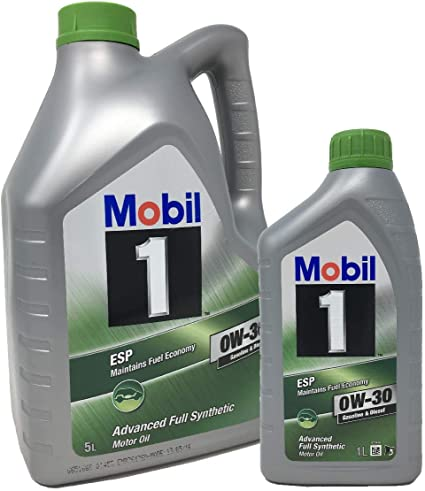 Aceite para motor Mobil 1 ESP 0W-30 Advance Fully Synthetic, Pack ...