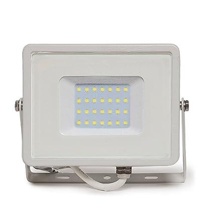 Projecteur lED 10W Lumière froide Blanc Superslim sans dimmable étanche IP 65