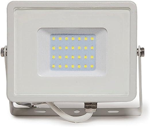 Foco Proyector LED 30W Luz Fría Blanco Superslim Dimmable ...