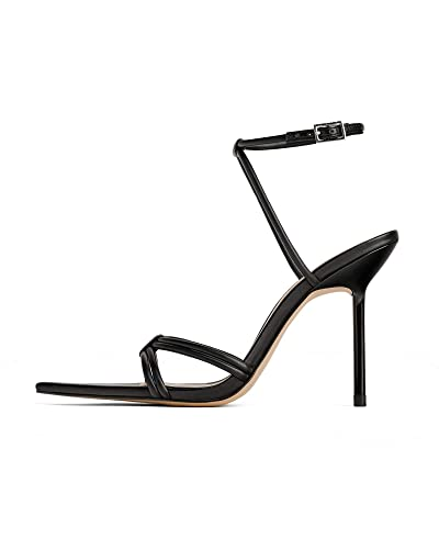 fb283ed61a Amazon.com | Zara Women High Heel Strappy Sandals 1372/001 | Flats