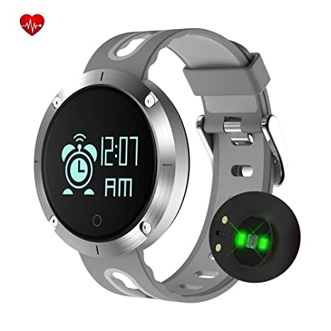 Fatmoon Upgrade Fitness Tracker, Activity Monitor Sleeping Heart Rate  Monitor Blood Pressure Tracker Pedometer Smart Bracelet with IP67  Waterproof