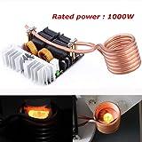 Yosoo 1000W ZVS Low Voltage Induction Heating Board Module Tesla coil 12V-48V Flyback Driver Heater DIY