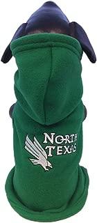 product image for All Star Dogs NCAA North Texas Mean Green Polar Fleece Hooded Dog Sweatshirt