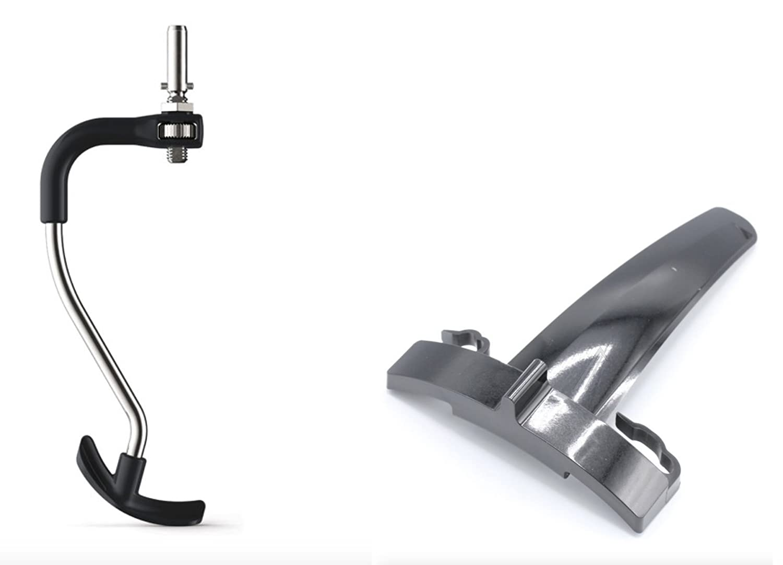 Kenwood KCC9068 - Gancio mescolatore in acciaio inox con inserto mescolatore rimovibile gommato (da applicare al gancio) Kenwood*