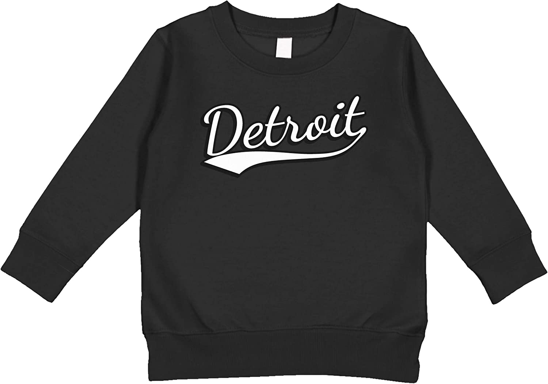 Amdesco Detroit, Michigan Toddler Sweatshirt