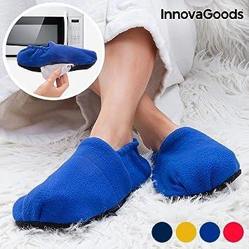 InnovaGoods IG114437 - Zapatillas de casa calentables en ...