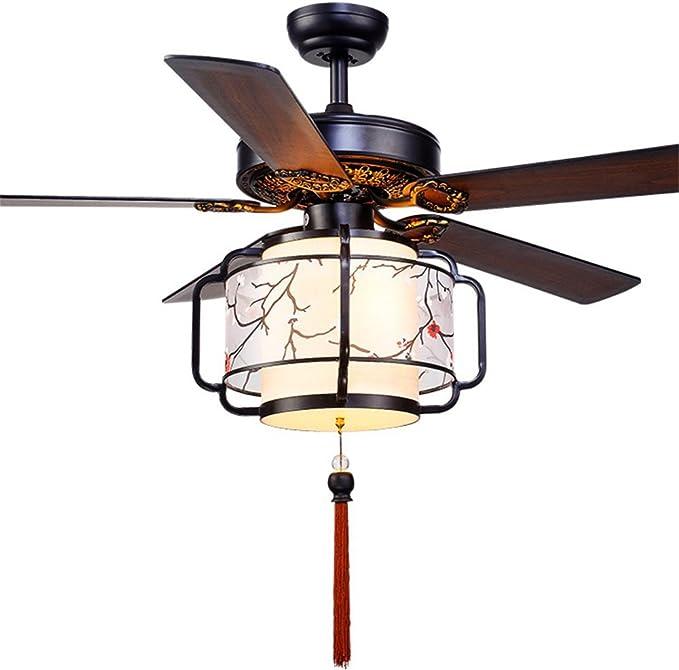 China Lámpara de ventilador de techo clásica oriental 52 pulgadas ...