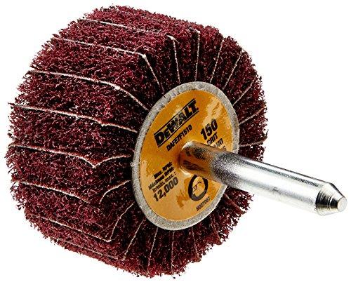 DEWALT DAFE7F1510 2-Inch by 1 -Inch by 1/4-Inch 150g Finshing Flap Wheel