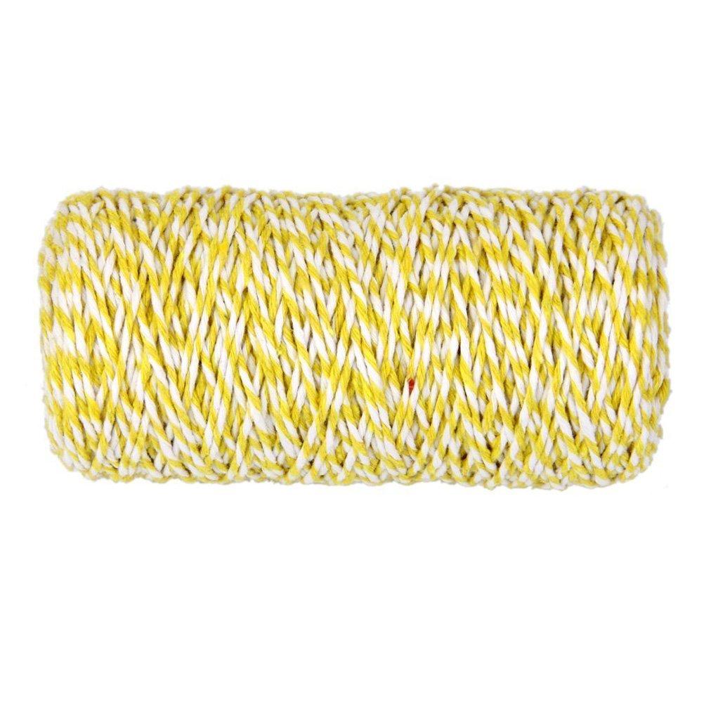 SUPVOX 100m Cotton Bakers Twine Baker Twine String Cotton String Twine Cord Artigianato intrecciato a mano per la decorazione di scatole regalo artigianali fai da te