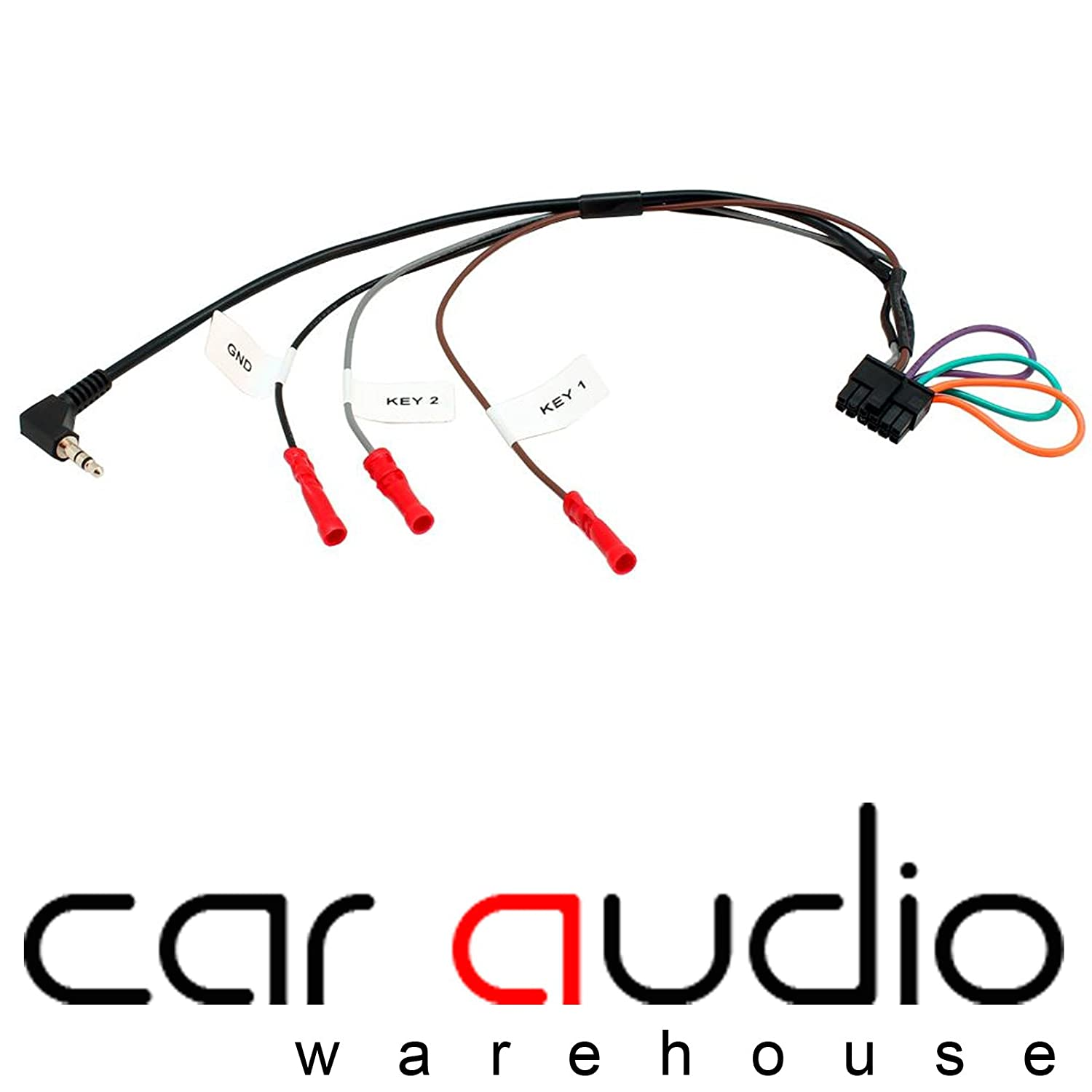 T1 Audio Vx3 Vauxhall Corsa D Car Steering Wheel Stalk Control Cd30 Wiring Interface Adaptor With Free Patch Lead Motorbike