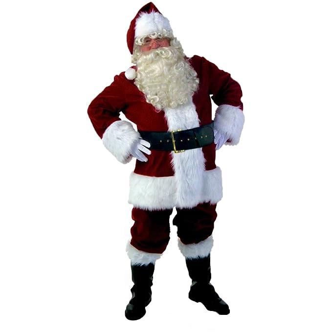 Amazon.com: Disfraz de Navidad Navidad hombre vestido de ...