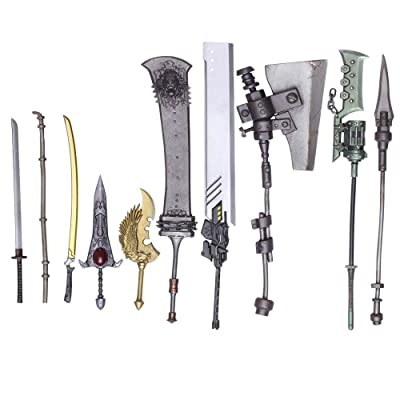 NieR: Automata Bring Arts Trading Weapon Collection (10 Pieces): Toys & Games