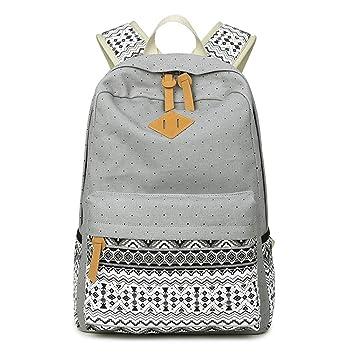 School Bag Mochila Mochila Casual Femenina Mochila para Estudiante De Mujer Mochila Tendencia Trend Trendy,F: Amazon.es: Deportes y aire libre