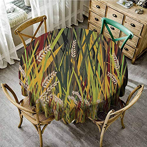 Rank-T Round Tablecloth Textured 40