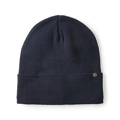 Henri Lloyd Tucker Plain Knited Beanie Hat Navy  Amazon.co.uk  Clothing bbff452a5352