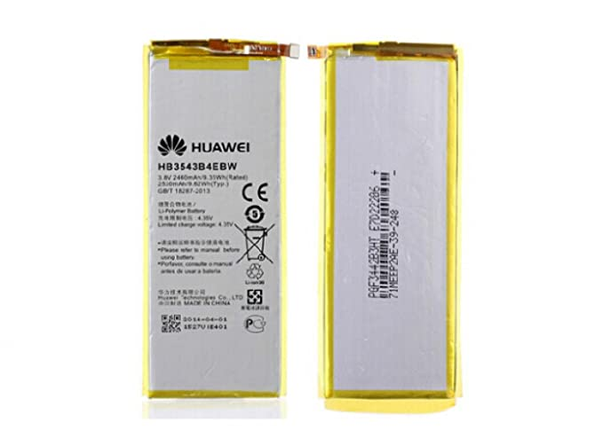 ca07fecb195 Image Unavailable. Image not available for. Color: 2460mAh battery for  Huawei Ascend P7 Battery bateria ...
