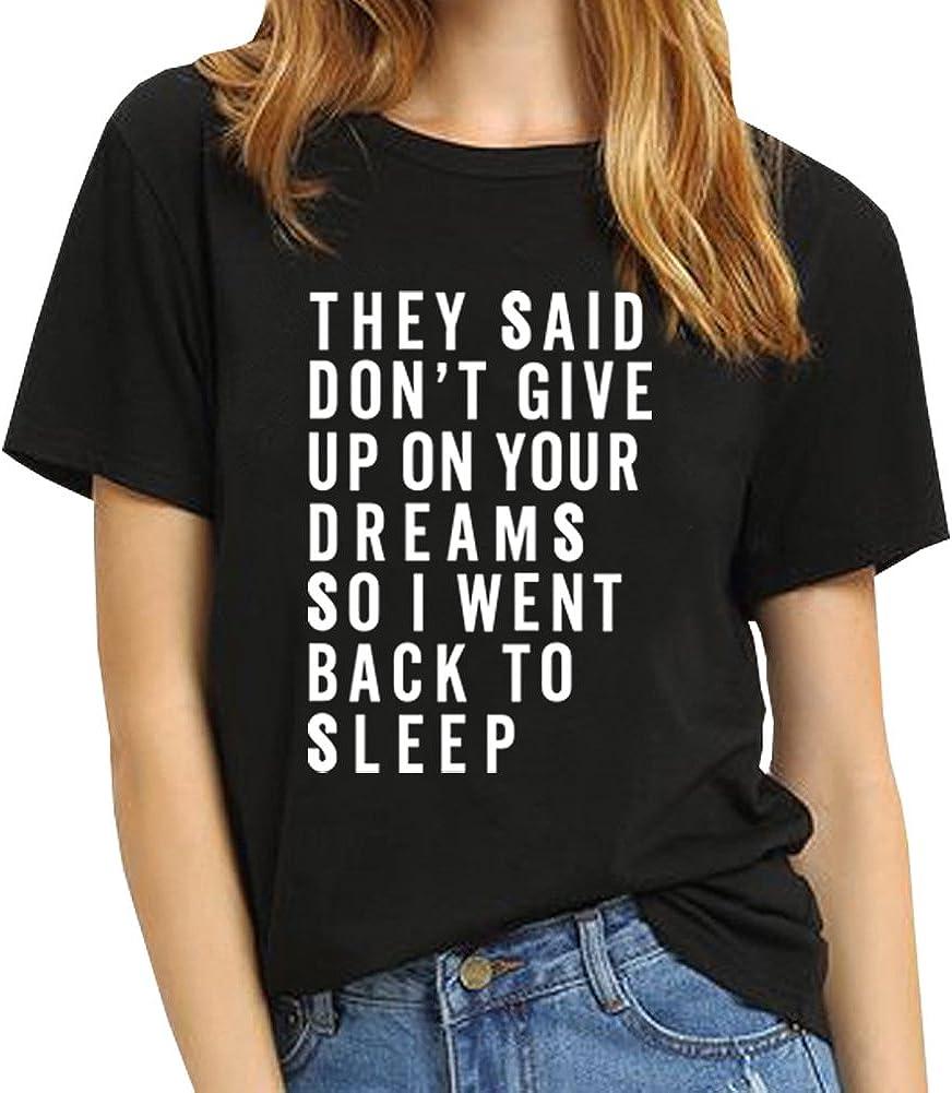 BLACKMYTH Women T Shirt Grahpic Letter tee Shirt Fashion Short Sleeve Tops Summer