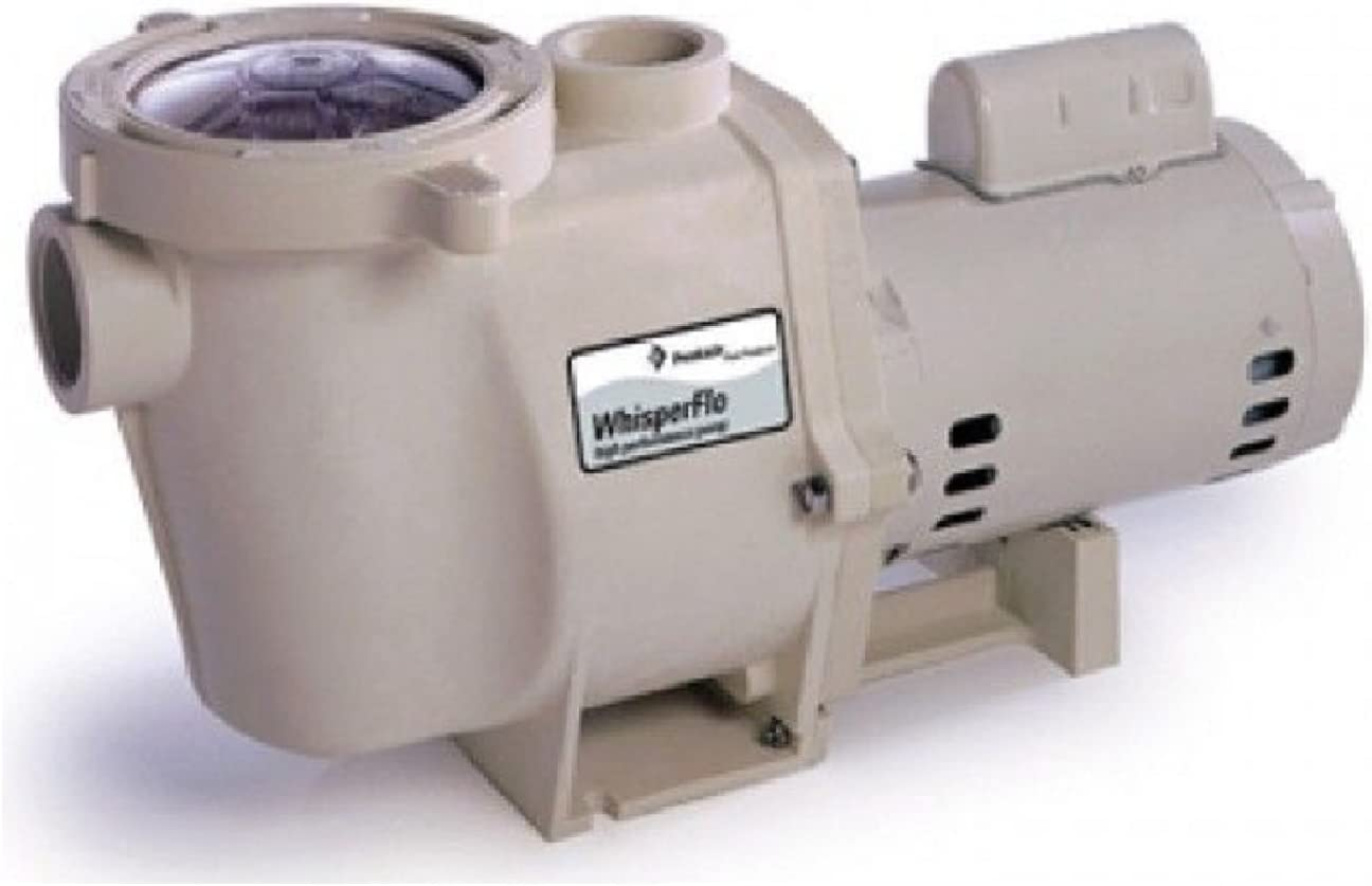 Pentair 011771 WhisperFlo High Performance Standard Efficiency Single Speed Up Rated Pump, 3/4 Horsepower, 115/230 Volt, 1 Phase