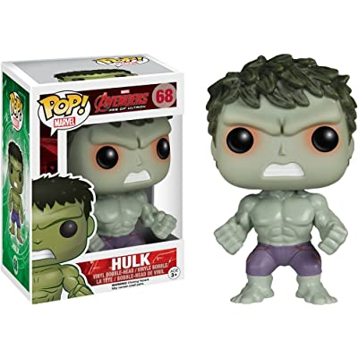 "Funko Pop! Marvel Avengers: Age of Ultron ""Savage"" Hulk Vinyl Figure - Exclusive: Toys & Games"