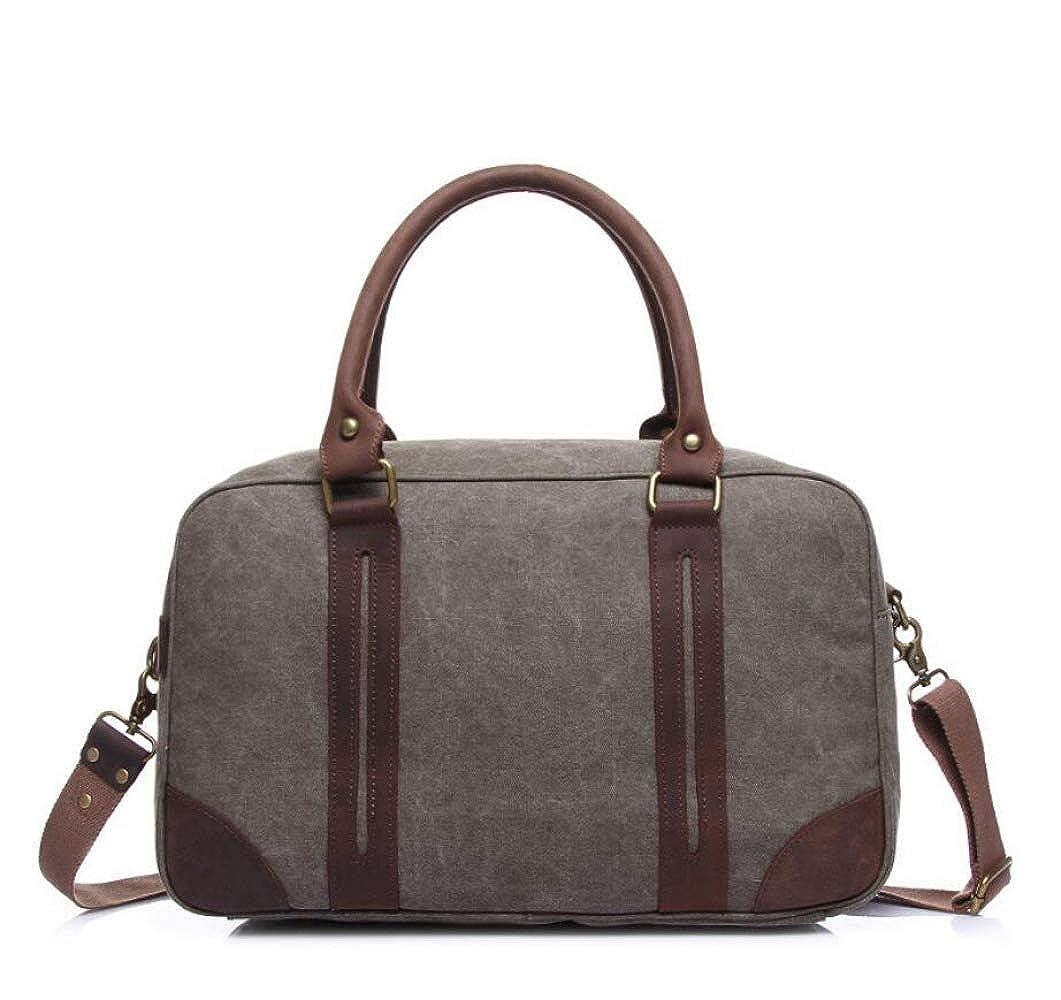 WYBXA Herren Handtaschen, Herren Und Damen Reisetaschen, Vintage Große Kapazität Taschen, Student Aufbewahrungsbeutel
