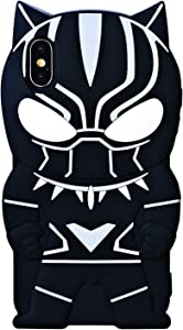 TopSZ Black Man Case for iPhone Xs Max 5.8