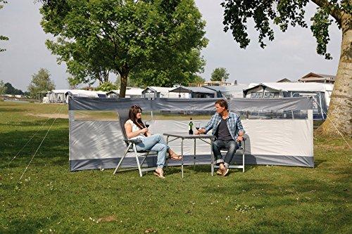 619RetLyDXL Bo-Camp Windschutz Solid 500x140 Camping Sichtschutz XL Garten Strand Lang Groß