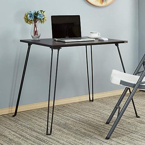 Amazon.com: Mesa plegable AC4+CB(8060) pequeña mesa de ...