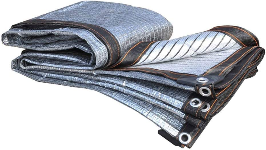 JYSD 日陰の布の反射のアルミホイルはテラスの屋外設備の活動のために防水します (Size : 3x5m)  3x5m