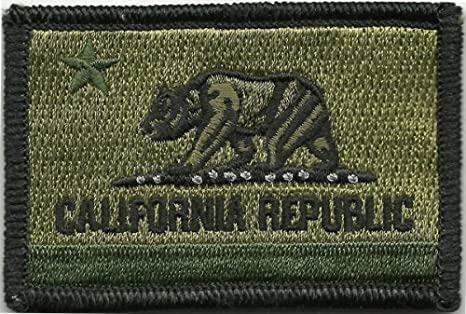 7ef7b613e Amazon.com : California Tactical Patch - Olive Drab : Other Products ...