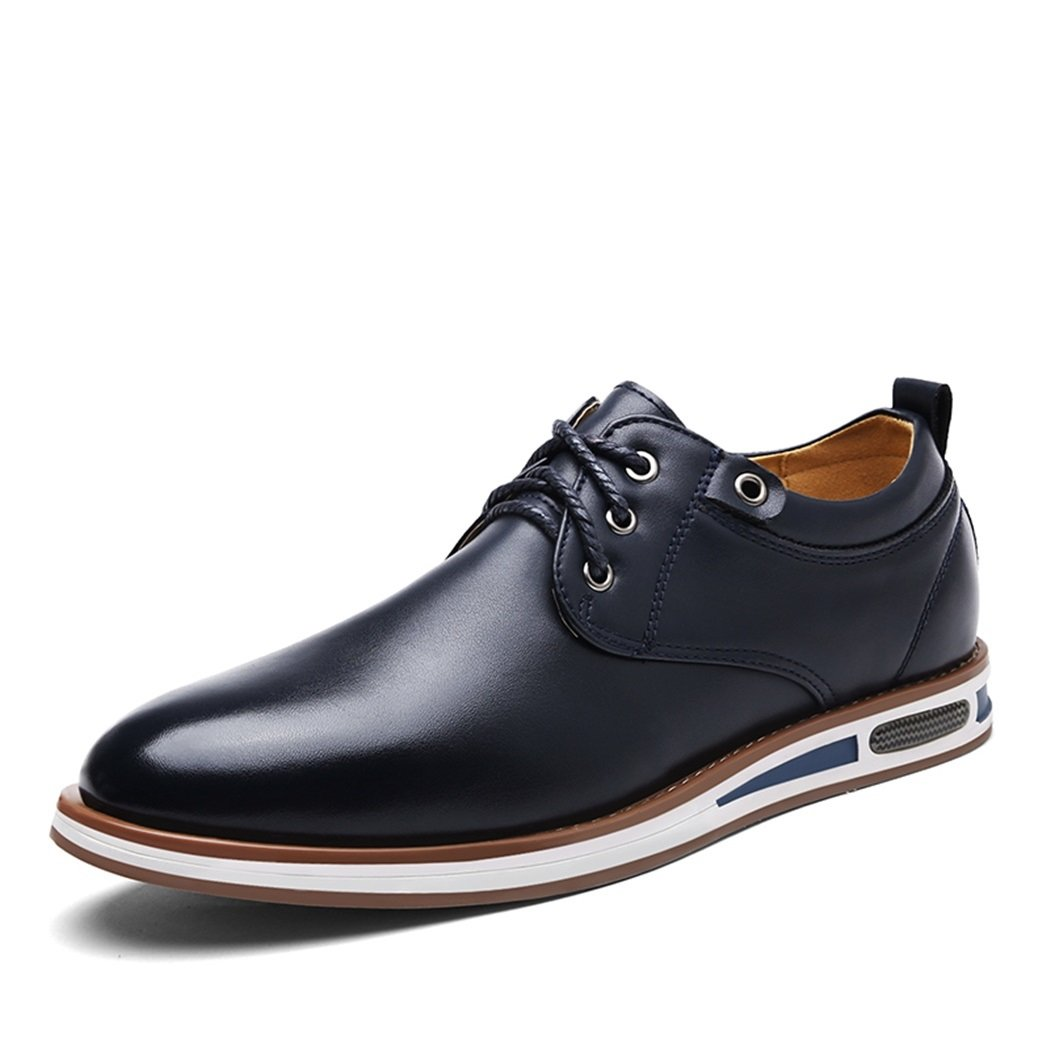 Basic Men Quality Dress Shoes, Casual Shoes for Men Blue by Generic