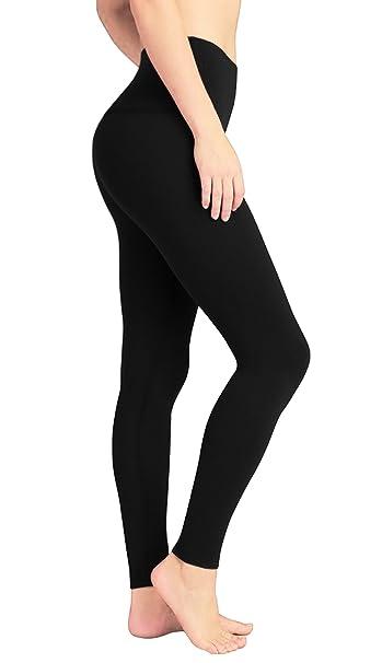 c5769b2fa6be DeepTwist Pantaloni da Yoga Donna Alta Vita - Allenamento Leggings Opaco  Yoga Fitness Spandex Palestra Pantaloni: Amazon.it: Abbigliamento