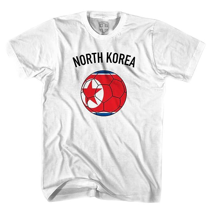 Corea del Norte Camiseta de fútbol Gris Gris M: Amazon.es: Ropa y accesorios