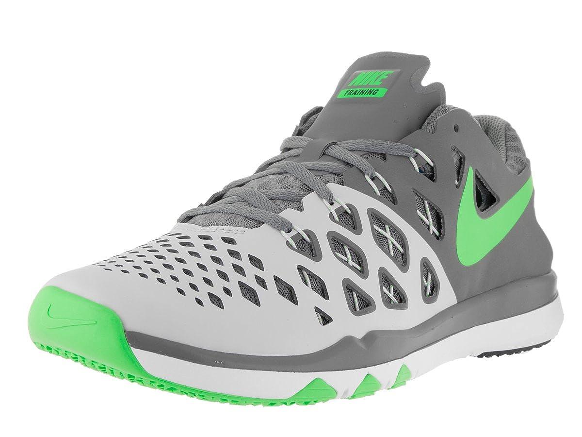 b3506a4cc35e3 Nike Men's Train Speed 4 Pure Platinum/Rage Green Training Shoe 7. 5 ...