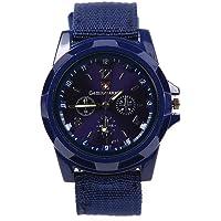 gemius army Estilo del deporte Banda de lona Reloj de pulsera de cuarzo Azul oscuro