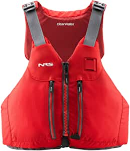 NRS Clearwater Mesh Back PFD Red L/XL