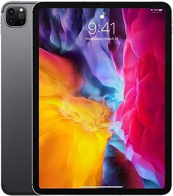 Apple iPad Pro (11cala, 2. generacji, Wi-Fi + Cellular, 128GB) - gwiezdna szarość (2020)
