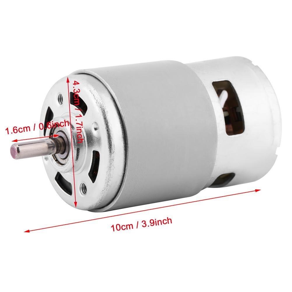 12V 0.32A 150W 13000-15000 RPM Motore brushless DC Grande coppia elevata per utensili elettrici