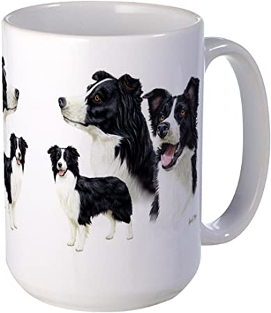 COLLIE MUM ETCHED WINE GLASS MOTHERS DAY BIRTHDAY GIFT PRESENT BORDER COLLIE