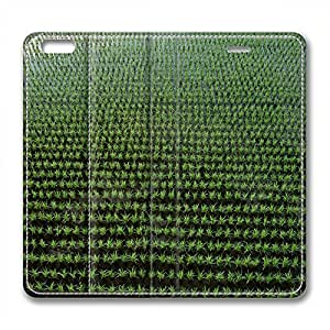 Rice Field Design Brand New Leather Case for Iphone 6 Plus Overlook
